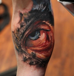 Creepy eye by Dmitry Vision
