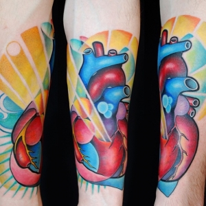 Rainbow heart by Fabrizio Divari