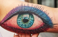 Realistic eye by Cris Gherman
