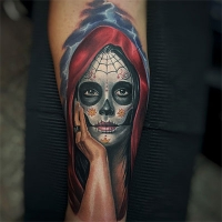 Day of the dead. Randy Engelhard.