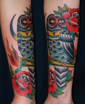 Traditional Owl by Miss Arianna