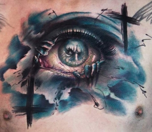 Fantasy eye by Charles Huurman