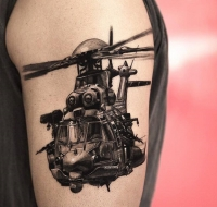 Special Ops helicopter by Niki Norberg