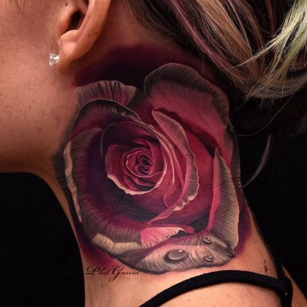 Neck rose by Phil Garcia