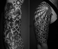 geometric dotwork by Yaroslav Gorbunov