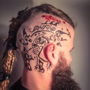 Tribal scalp