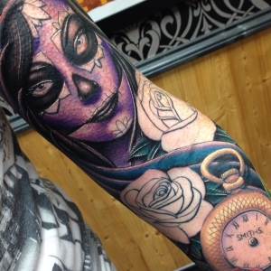 Day of the dead sleeve by Craig Holmes