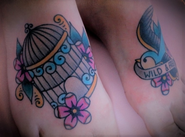 Adorable bird cage by Ashley Love