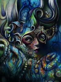 Octopus Lady by Liz Cook