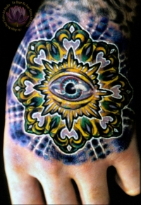 Mandala eye by James Kern