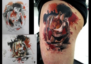 From sketch to skin by Adam Kremer
