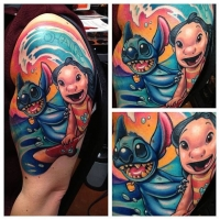 Awesome Lilo and Stitch ink!