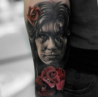 Realistic sleeve by Matt Jordan