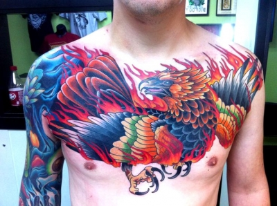 Beautiful phoenix by David Bruehl