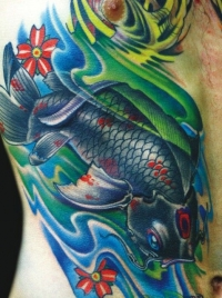 Koi fish by Aric Taylor