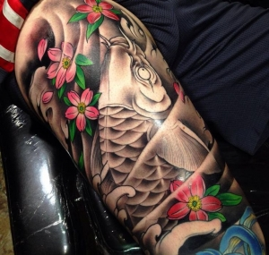 Koi in progress by Mimp
