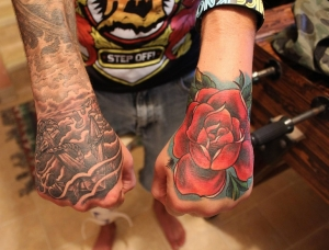Beautiful hand tattoos