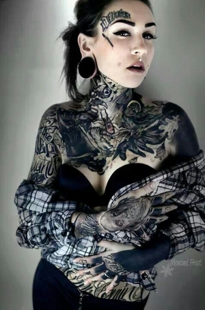 Great shirt, tattoo combination!