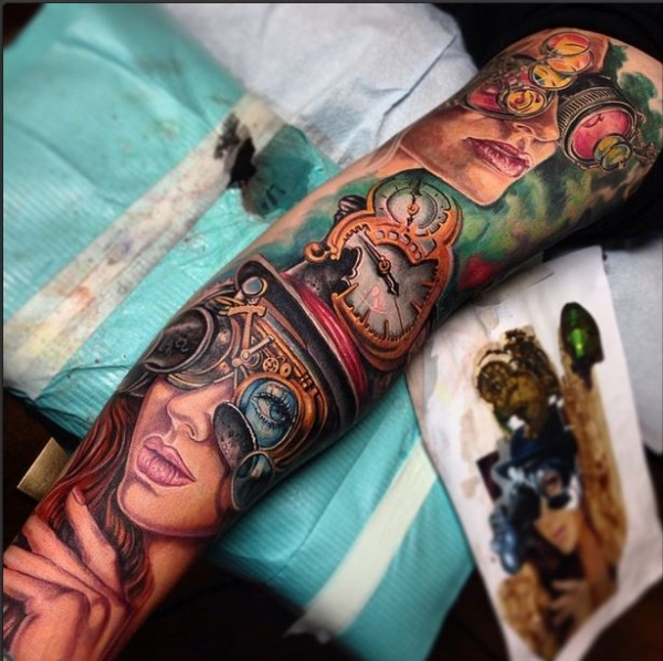 Super cool sleeve by Derek Turcotte