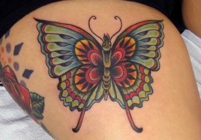 Cute butterfly by Tasha Rubinow