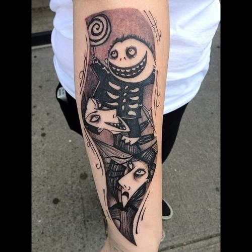 Nightmare before Christmas. Danny Lepore.