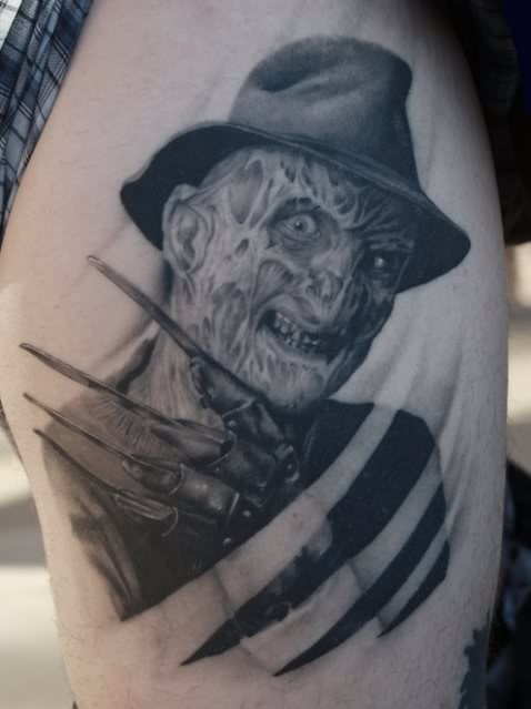 Classic Freddy Krueger by Tye Harris.