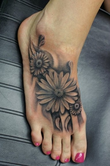 Daisies tattoo idea