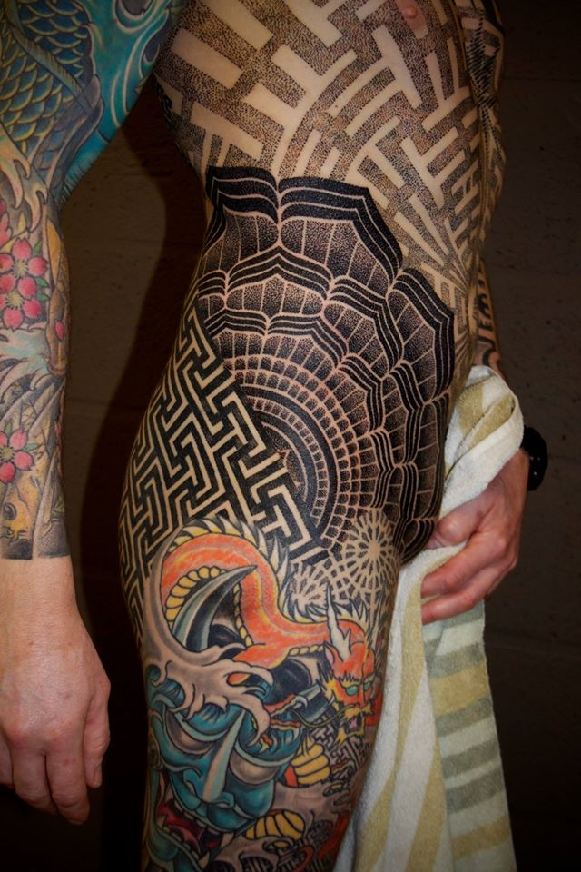 Amazing geometric design by Vincent Hocquet