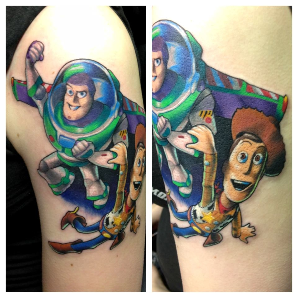 Buzz lightyear by Joe Matisa