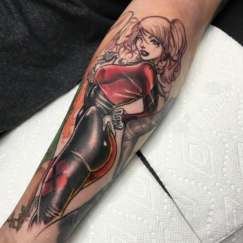 In progress Harley Quinn