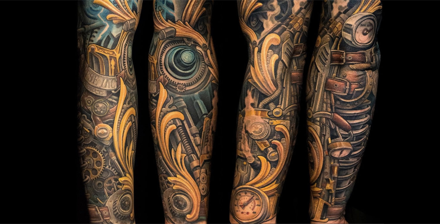 Orange biomechanical sleeve