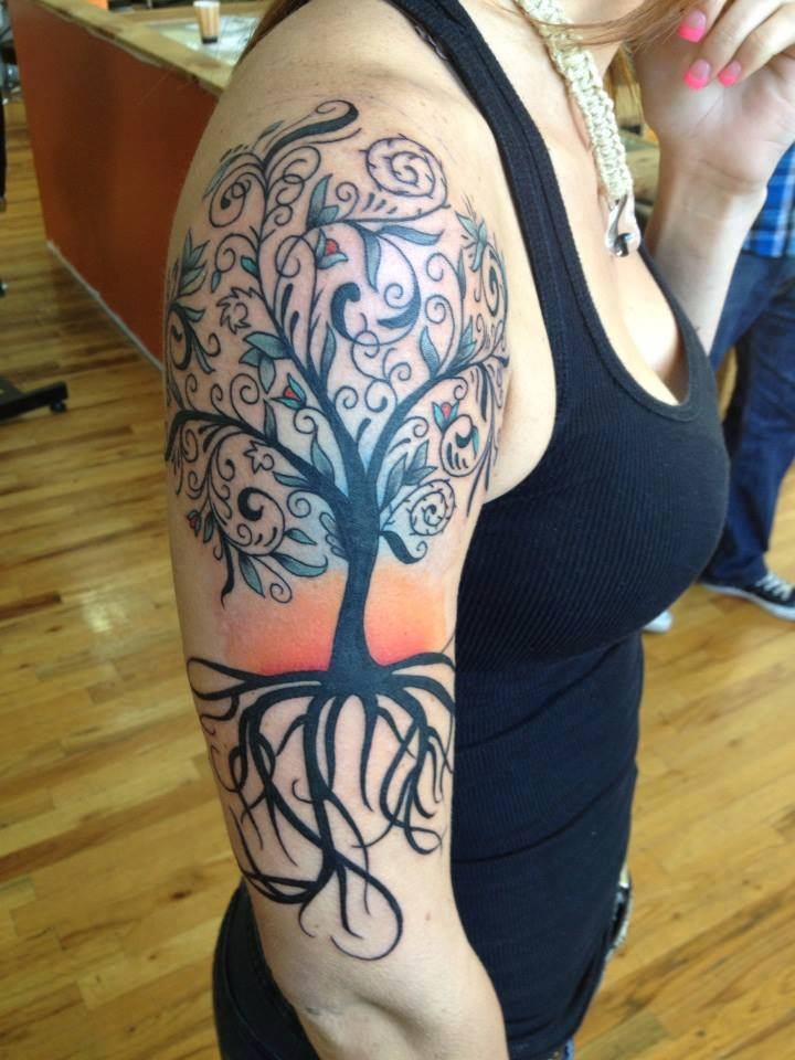 Tree of life by Brian Manos