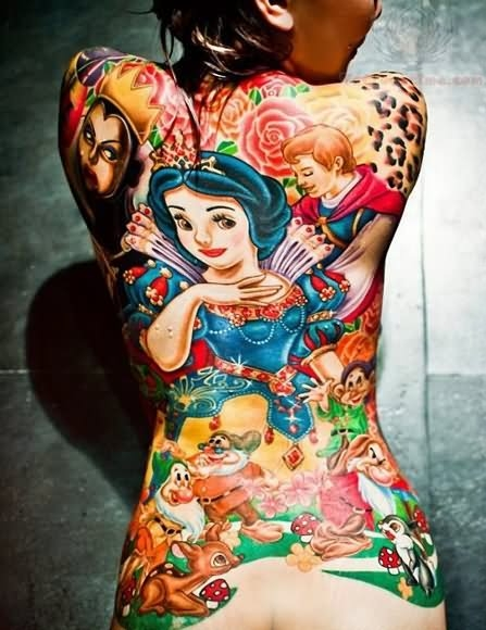 Awesome Snow White tattoo!