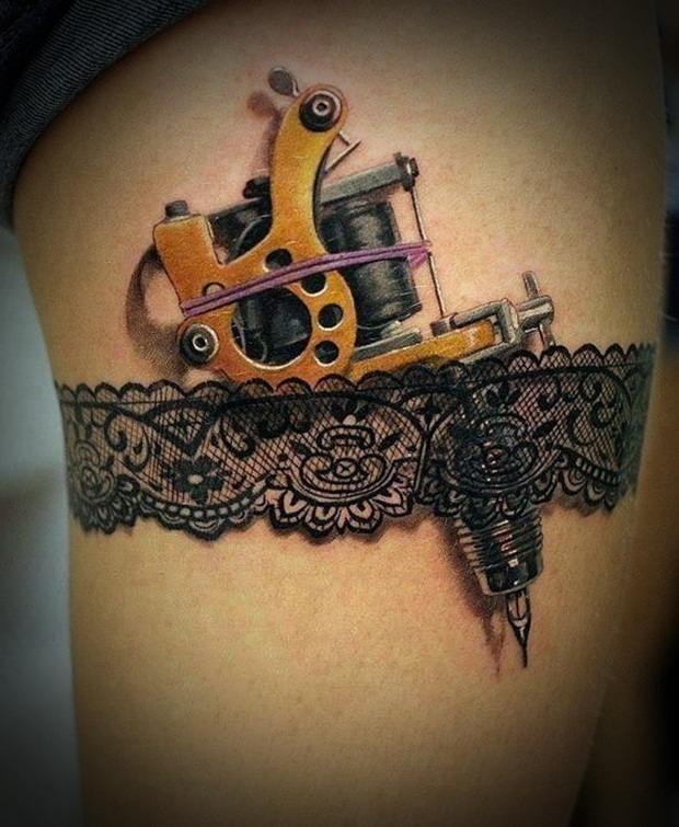 Super sexy tattoo gun!