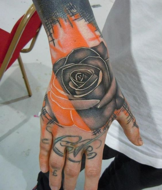 Hand rose by Phatt German