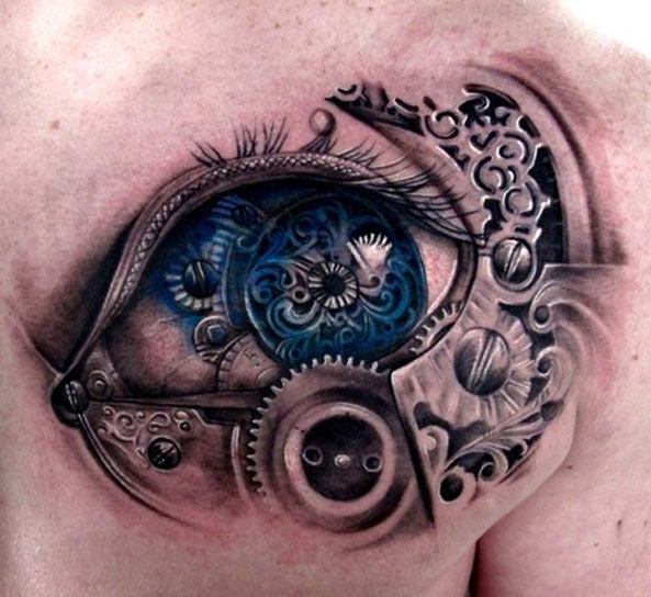 Biomechanical eye. Anonymous