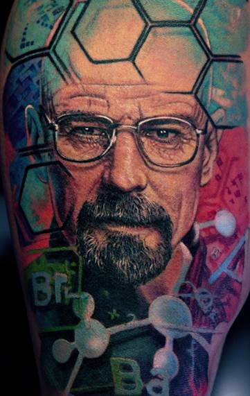 Breaking Bad Ink by Remis Cizauskas