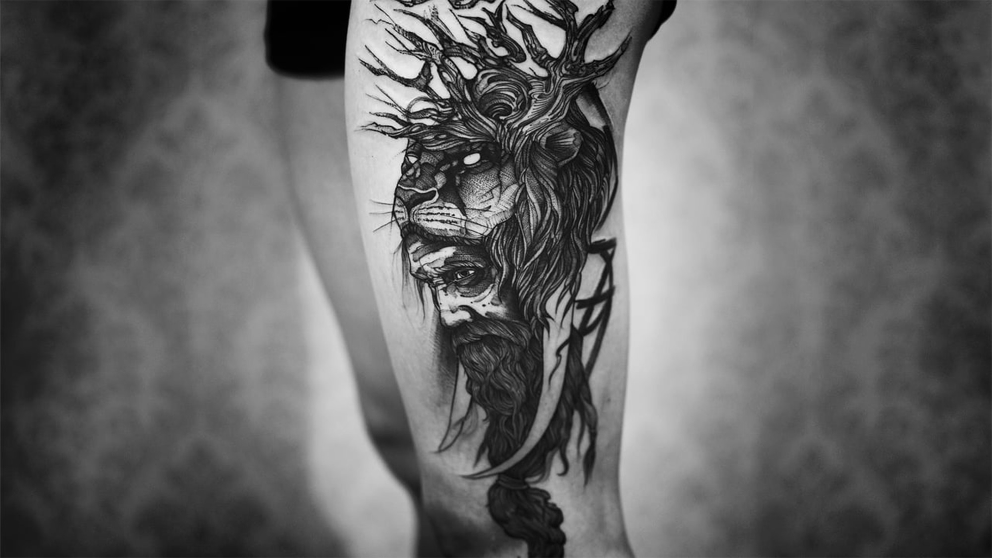 Sick thigh leg piece by Fredao Oliveira