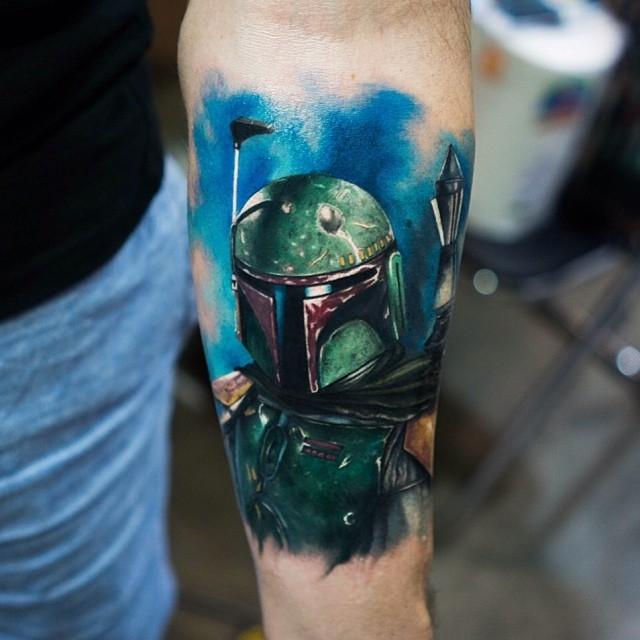 Boba Fett by Mick Squires