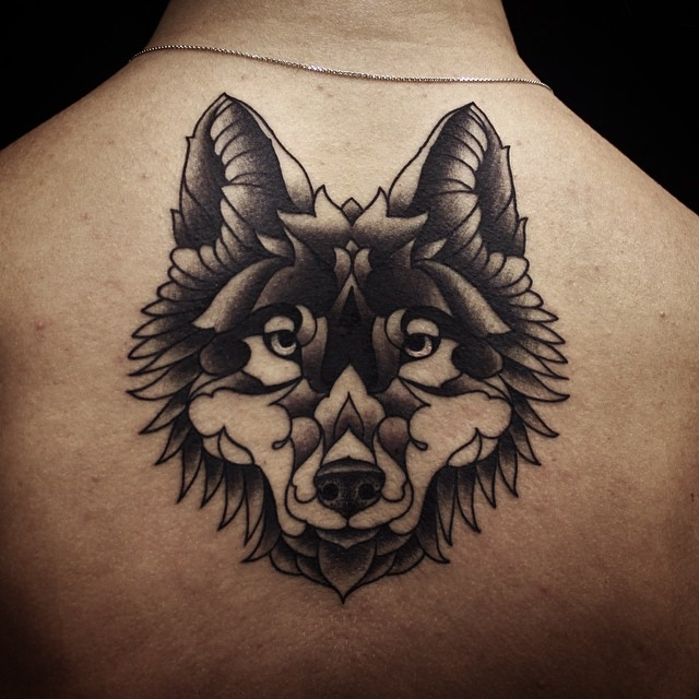 Dotwork wolf by Ervand Akopov