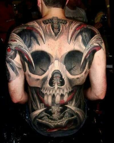 Skull masterpiece by Paul Booth