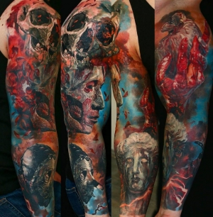 Incredible sleeve by Domantas Parvainis